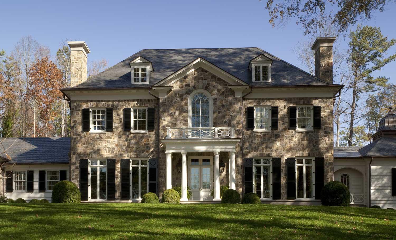Norman davenport askins architect atlanta ga for Windows on homes